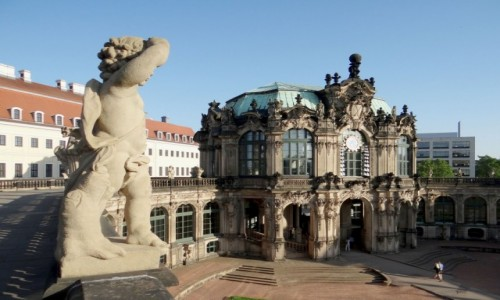 Zdjecie NIEMCY / Saksonia / Drezno / Drezno...Zwinger.