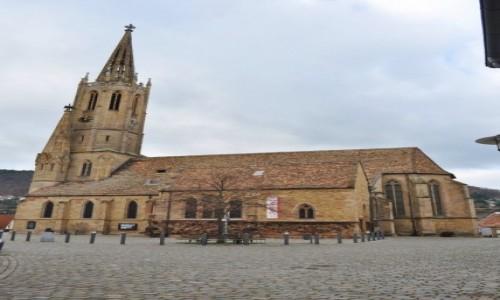 Zdjecie NIEMCY / Nadrenia-Palatynat / Bad Dürkheim / Bad Dürkheim, stare miasto, kościół ewangelicki