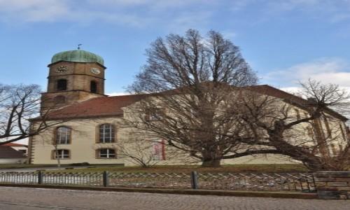 Zdjęcie NIEMCY / Nadrenia-Palatynat / Bad Dürkheim / Bad Dürkheim, kościół barokowy
