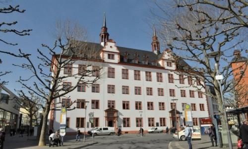 Zdjęcie NIEMCY / Nadrenia-Palatynat / Bad Dürkheim / Moguncja, dawne kolegium jezuickie, dziś uniwersytet