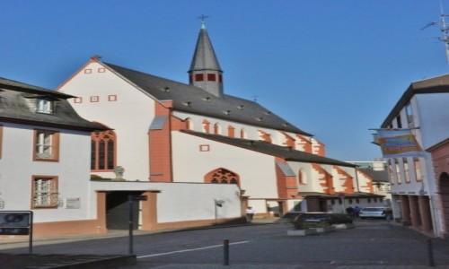 Zdjęcie NIEMCY / Nadrenia-Palatynat / Moguncja / Moguncja, kościół karmelitański