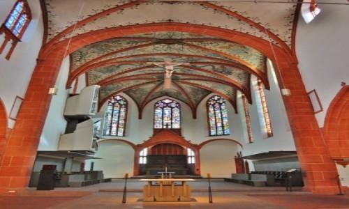 NIEMCY / Nadrenia-Palatynat / Moguncja / Moguncja, kościół karmelitański