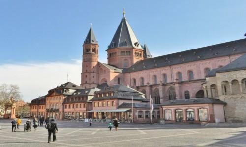 Zdjecie NIEMCY / Nadrenia-Palatynat / Moguncja / Moguncja, katedra