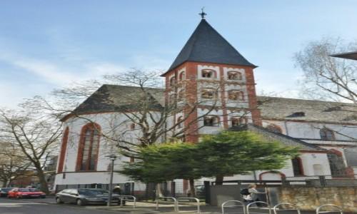 Zdjecie NIEMCY / Nadrenia-Palatynat / Moguncja / Moguncja, kościół St. Emmeran z 1200 r.