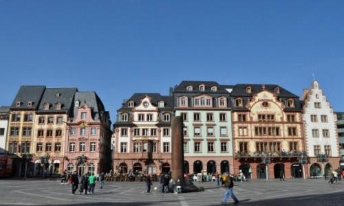NIEMCY / Nadrenia-Palatynat / Moguncja / Moguncja, stare miasto