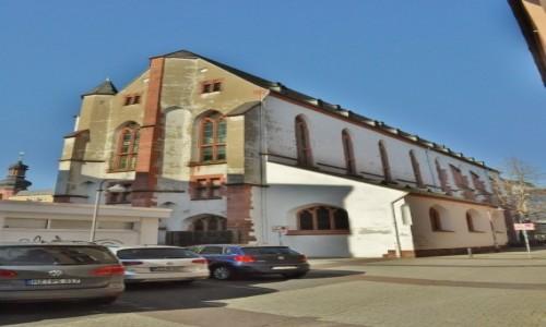 Zdjecie NIEMCY / Nadrenia-Palatynat / Moguncja / Moguncja, dawny kościół Klarysek