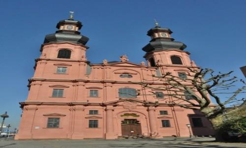 Zdjecie NIEMCY / Nadrenia-Palatynat / Moguncja / Moguncja, kościół barokowy