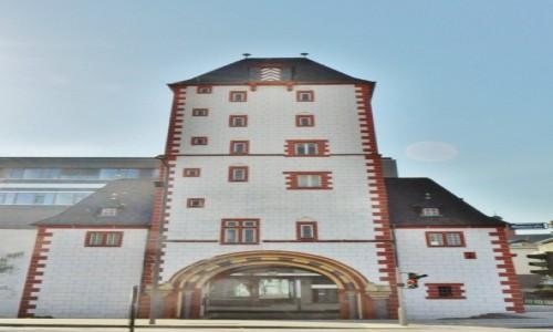 Zdjęcie NIEMCY / Rheinland-Pfalz / Moguncja / Moguncja,stare miasto, brama miejska