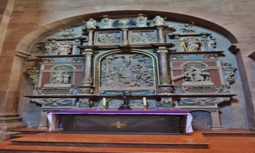 Zdjęcie NIEMCY / Rheinland-Pfalz / Moguncja / Moguncja,katedra, ołtarz