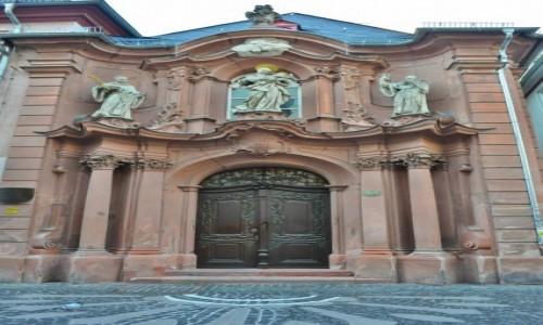 Zdjęcie NIEMCY / Rheinland-Pfalz / Moguncja / Moguncja,stare miasto, klasztor Augustianów