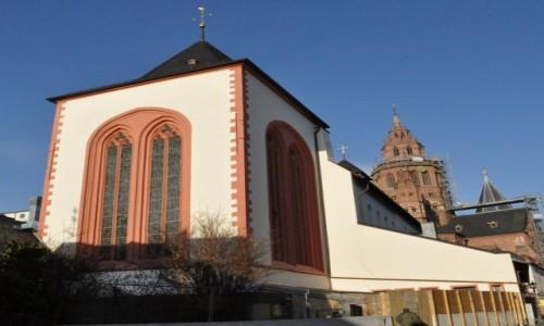 Zdjęcie NIEMCY / Rheinland-Pfalz / Moguncja / Moguncja,stare miasto, St. Johannis