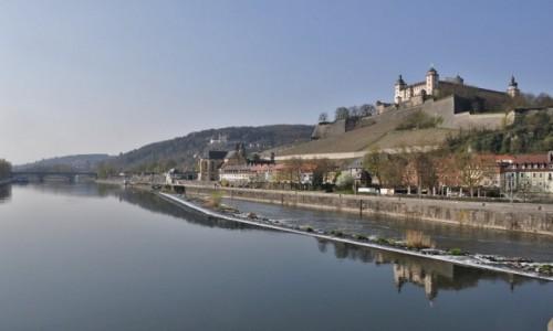 Zdjęcie NIEMCY / Frankonia / Wurzburg / Wurzburg, spacer na Menem