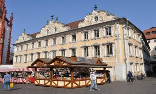 Zdjęcie NIEMCY / Frankonia / Wurzburg / Wurzburg, Marktplatz