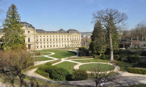 Zdjęcie NIEMCY / Frankonia / Wurzburg / Wurzburg, rezydencja książąt biskupów
