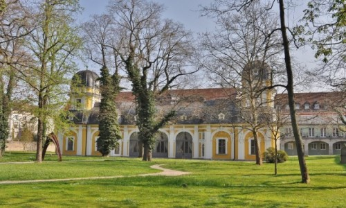 Zdjęcie NIEMCY / Frankonia / Wurzburg / Wurzburg teren starego szpitala