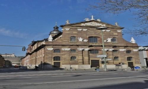 Zdjęcie NIEMCY / Frankonia / Wurzburg / Wurzburg, kościół uniwersytecki