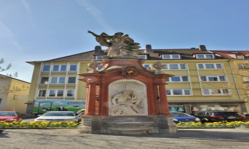 Zdjęcie NIEMCY / Frankonia / Wurzburg / Wurzburg, zakamarki