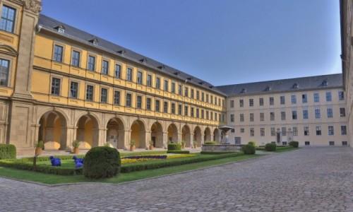 NIEMCY / Frankonia / Wurzburg / Wurzburg, stary szpital