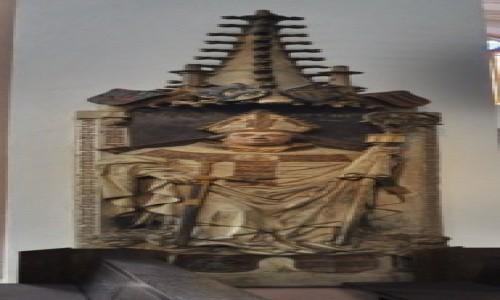Zdjecie NIEMCY / Frankonia / Wurzburg / Wurzburg, kateda, epitafium jednego z książąt biskupów