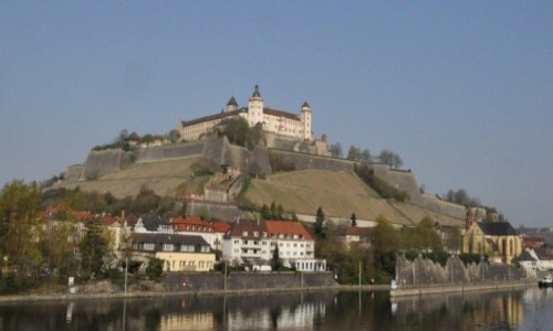 NIEMCY / Frankonia / Wurzburg / Wurzburg, widoki - koniec