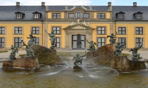 Zdjęcie NIEMCY / Dolna Saksonia / pod Hannowerem / W Ogrodach Herrenhausen