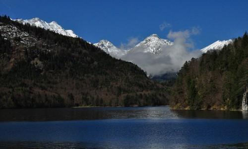 Zdjęcie NIEMCY / Bawaria / Hohenschwangau / Jezioro