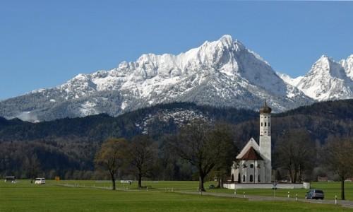 Zdjęcie NIEMCY / Bawaria / W drodze do Neuschwanstein / Kościółek
