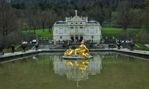 Zdjecie NIEMCY / Bawaria / Linderhof / Pałac