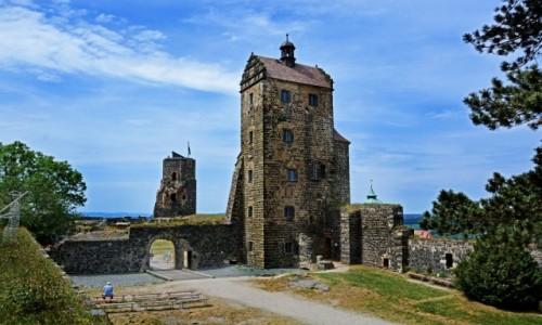 Zdjecie NIEMCY / Saksonia / Stolpen / Zamek Stolpen więzienie hrabiny Cosel