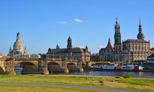 Zdjęcie NIEMCY / Saksonia / Drezno / Drezno jak z obrazu Canaletta