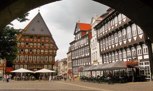 NIEMCY / Dolna Saksonia / Hildesheim / Starówka