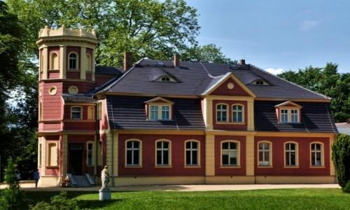 Zdjecie NIEMCY / Saksonia / Kromlau / Pałacyk