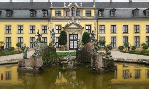Zdjecie NIEMCY / Dolna Saksonia / Hanower / Fontanna Neptuna
