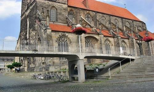 Zdjecie NIEMCY / Dolna Saksonia / Hildesheim / Przejście
