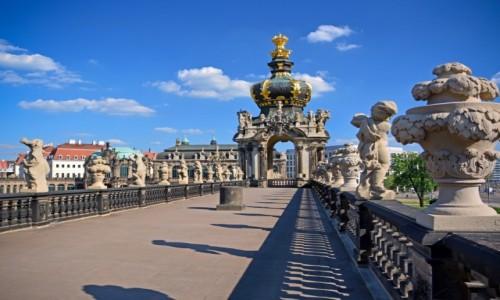 Zdjecie NIEMCY / Saksonia / Drezno / Pałac Zwinger