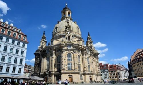 Zdjecie NIEMCY / Saksonia / Drezno / Frauenkirche