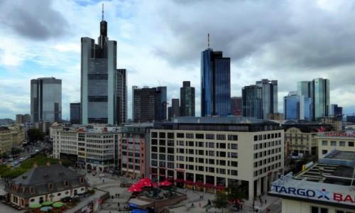 Zdjecie NIEMCY / Hesja / Frankfurt / Skyline