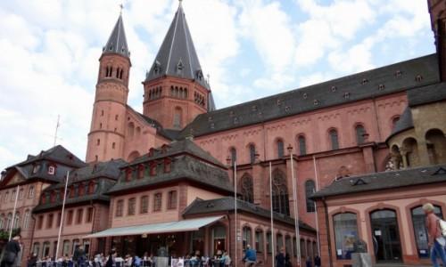 Zdjęcie NIEMCY / Rheinland-Pfalz / Mainz / Katedra Świętych Marcina i Szczepana