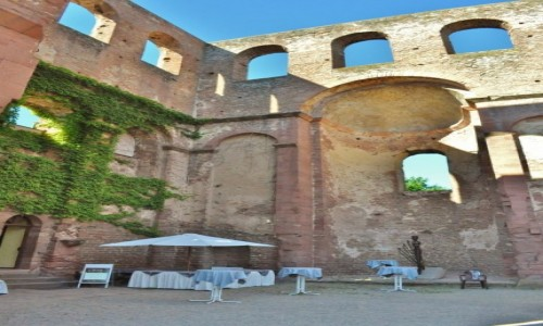 Zdjecie NIEMCY / Rheinland-Pfalz / Bad Durkhaim / Bad Durkhaim, ruiny opactwa Limburg