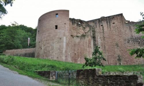 Zdjęcie NIEMCY / Rheinland-Pfalz / Bad Durkhaim / Hardenburg, zamek