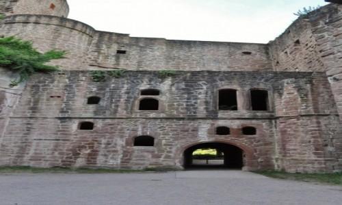 Zdjecie NIEMCY / Rheinland-Pfalz / Bad Durkhaim / Hardenburg, zamek