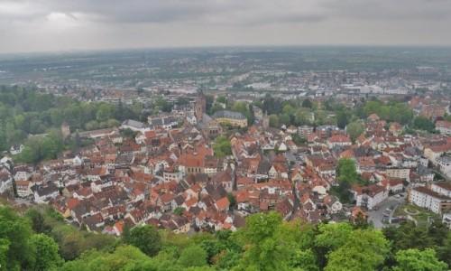 Zdjęcie NIEMCY / Badenia-Wirtembergia / Weinheim / Weinheim, panorama