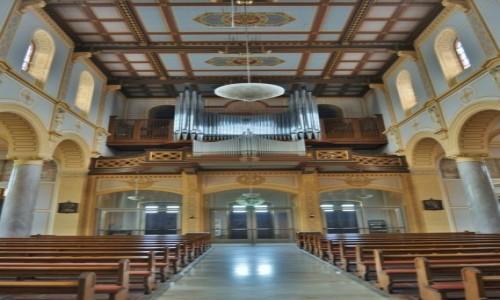 Zdjęcie NIEMCY / Badenia-Witenbergia / Weinheim / St. Laurentius Kirche, Weinheim