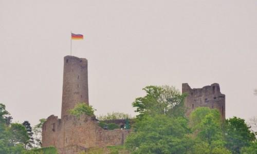 Zdjęcie NIEMCY / Badenia-Witenbergia / Weinheim / Burgruine Windeck, Weinheim