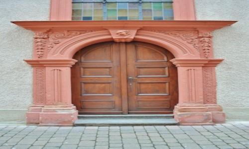 Zdjęcie NIEMCY / Badenia-Witenbergia / Weinheim / Kościół ewangelicki, Weinheim
