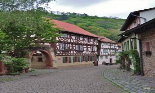 Zdjęcie NIEMCY / Badenia-Witenbergia / Weinheim / Weinheim