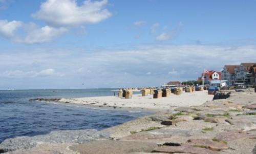 Zdjecie NIEMCY / Schleswig-Holstein / Plaża w Laboe / Laboe