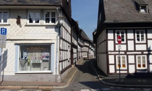 Zdjecie NIEMCY / Dolna Saksonia / Goslar / Uliczki w Goslar
