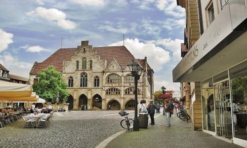 Zdjęcie NIEMCY / Dolna Saksonia / Hildesheim / Ratusz