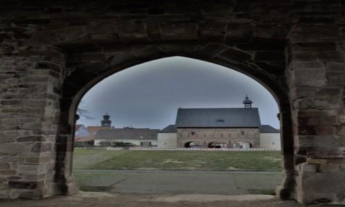 Zdjęcie NIEMCY / Hesja / Lorsch / Lorsch, ruiny preromańskiego klasztoru